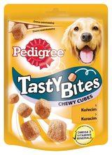Pedigree Tasty Bites Chewy Cubes kuřecí 35 g prošlá expirace