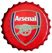Premier League Plechová cedule Arsenal 40 cm