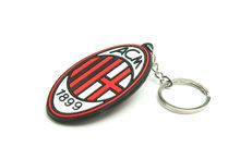 Premier League Přívěsek na klíče AC Milan gumový