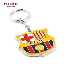 Premier League Přívěsek na klíče FC Barcelona kovový