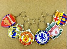 Premier League Přívěsek na klíče FC Fotbalové kluby znaky