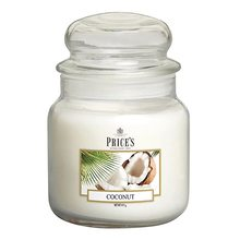 Price\'s Candles Price's Candles Svíčka ve skleněné dóze Price´s Candles Kokos, 411 g