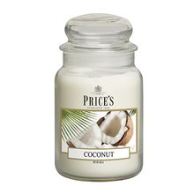 Price\'s Candles Price's Candles Svíčka ve skleněné dóze Price´s Candles Kokos, 630 g