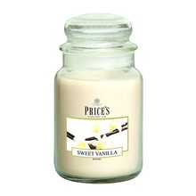 Price\'s Candles Price's Candles Svíčka ve skleněné dóze Price´s Candles Sladká vanilka, 630 g