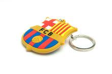 Přívěsek na klíče FC Barcelona gumový