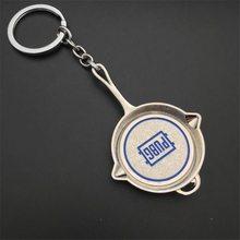PUBG Přívěšek na klíče PUBG Pánvička stříbrná