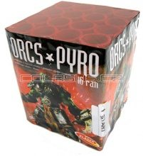 Pyrotechnika Pyrotechnika Kompakt 16ran / 30mm Orcs Pyro