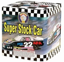 Pyrotechnika Pyrotechnika kompakt 16ran / 30mm Super Stock Car