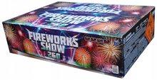 Pyrotechnika Pyrotechnika Kompakt 260ran / 20mm Fireworks show 260