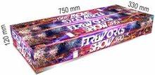 Pyrotechnika Pyrotechnika Kompakt 390ran / 20mm Fireworks show 390