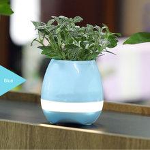 RAW Hrací květináč modrý