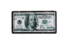 Retro Plechová cedule 100US Dolar