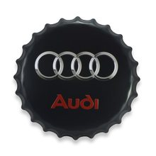 Retro Plechová cedule Audi 40 cm