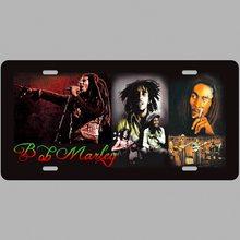 Retro Plechová cedule Bob Marley