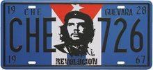 Retro Plechová cedule Guevara 28
