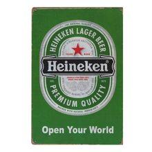 Retro Plechová cedule Heineken