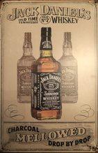 Retro Plechová cedule Jack Daniels Mellowed