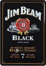 Retro Plechová cedule Jim Beam Black