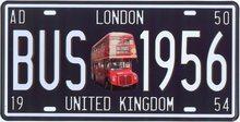 Retro Plechová cedule London BUS