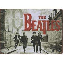 Retro Plechová cedule The Beatles