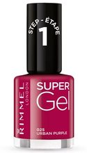 Rimmel Rimmel London Super Gel 12ml - 025 Urban Purple