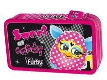 School supplies Dvoupatrový penál s vybavením v designu Furby