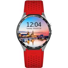 Smart Watch Chytré pánské hodinky Smart Watch KW88 (Červené)