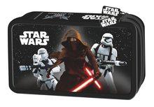Star Wars Dvoupatrový penál s vybavením v designu Star Wars černý