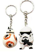 Star Wars Přívěsek na klíče Star Wars BB-8/Stormtrooper