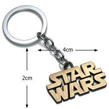 Star Wars Přívěsek na klíče Star Wars Nápis Bronz