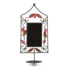 Sunchi Svícen Sunchi 502-Svícen se zrcadlem obdelník červená