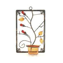 Sunchi Svícen Sunchi 857-Svícen na stěnu obdelník oranžová