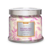 Svíčky z USA Svíčka Sparkling Amethyst 375g třpyt ametystu