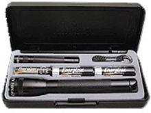 Svítilna Maglite AA černá + baterie solitaire