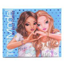 Top Model Top Model TOPModel Friendship Book Blue Paper Articles