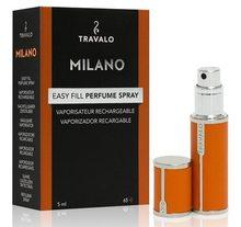 Travalo Travalo Milano plnitelný flakon 5ml, oranžový