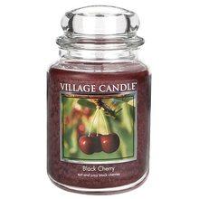 Village Candle Svíčka ve skleněné dóze Village Candle Černá třešeň, 737 g