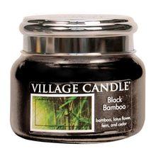 Village Candle Svíčka ve skleněné dóze Village Candle Černý bambus, 312 g