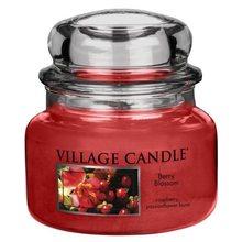 Village Candle Svíčka ve skleněné dóze Village Candle Červené květy, 312 g