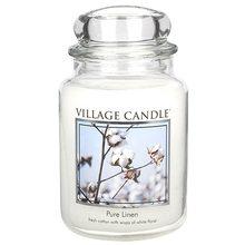 Village Candle Svíčka ve skleněné dóze Village Candle Čisté prádlo, 737 g