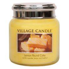 Village Candle Svíčka ve skleněné dóze Village Candle Citrónový koláč, 454 g