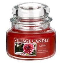 Village Candle Svíčka ve skleněné dóze Village Candle Dahlia, 312 g