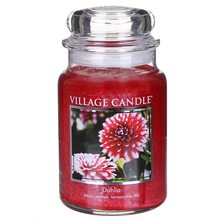 Village Candle Svíčka ve skleněné dóze Village Candle Dahlia, 737 g