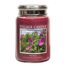 Village Candle Svíčka ve skleněné dóze Village Candle Divoká růže, 737 g