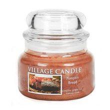 Village Candle Svíčka ve skleněné dóze Village Candle Dýňový chléb, 312 g