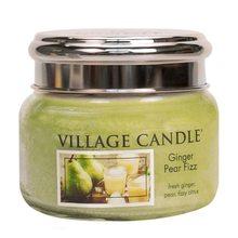 Village Candle Svíčka ve skleněné dóze Village Candle Hruškový fizz se zázvorem, 312 g