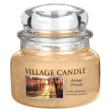 Village Candle Svíčka ve skleněné dóze Village Candle Jantarový les, 312 g