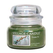 Village Candle Svíčka ve skleněné dóze Village Candle Jinovatka, 312 g