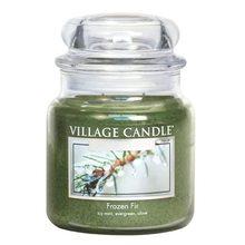 Village Candle Svíčka ve skleněné dóze Village Candle Jinovatka, 454 g