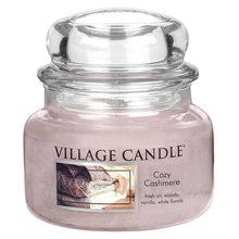 Village Candle Svíčka ve skleněné dóze Village Candle Kašmírové pohlazení, 312 g